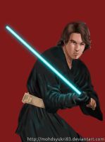 Anakin Skywalker by mohdsyukri83