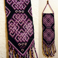 celtic wall hanging by nimuae