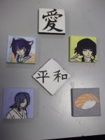 Mini Canvases by Luna-Rox