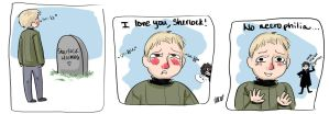 silly Sherlock comic no. 1 by HannahBreezy