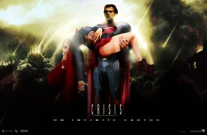 CRISIS on infinite earths - movie Fan Poster by Imperium-Hero