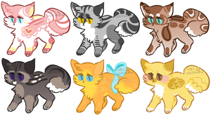 Fab Adopts 2 :1 LEFT: by PilusAdopts