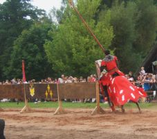 jousting knight stock1 by DemoncherryStock