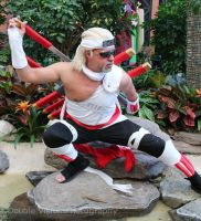 Killer Bee 4 at Katsucon 2014 by kakashi-shishio