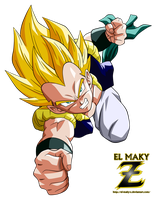 Gotenks Super Saiyan by el-maky-z
