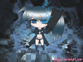 Chibi Black Rock Shooter by KrisLiao