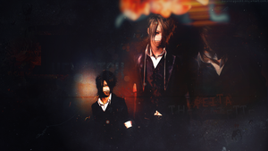 Reita Wallpaper TOXIC by ParanoiaGod69