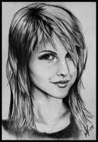 Hayley Williams by Myrinihanna