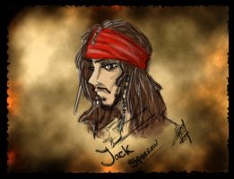 Jack Sparrow by HotPeppers