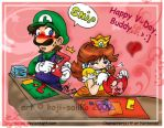 Mario: Here's Your Message... by saiiko