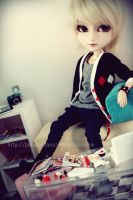 In his messy room :04 by mydollshouse
