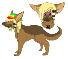 Tripp Shep Character Design [COM] by LexiCakes