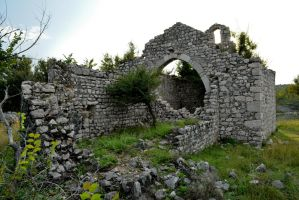 Remnants of the chapel of Saint Peter, Rudine-Krk by darkoantolkovic