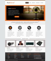 AudioTechnika website by AlsusArt