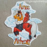 Aimee Airheart Badge commission by nightspiritwing