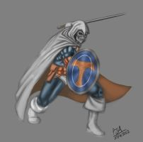 Daily Speedpaint #3: Taskmaster by andepoul