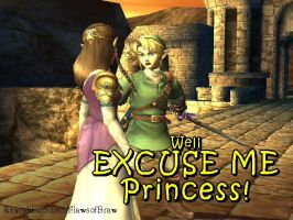 Well Excuse Me Princess by FlawsofBrawl