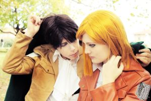 Levi x Petra: Always by your side by Smexy-Boy