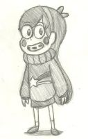 Mabel Pines Sketch by AtomicKingBoo