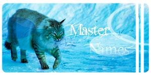 Master Names List by AriaSnow