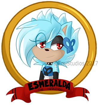 Esmeralda ID Badge by EmiStudios