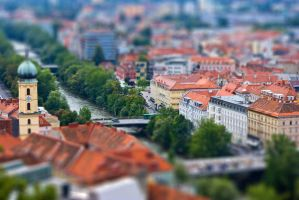 Graz tilt shift 2 by bhorwat