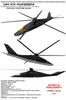 Kunoichi Low Observable Helicopter by Stealthflanker