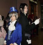 Black Butler cosplay at AB by AssassinFoxes