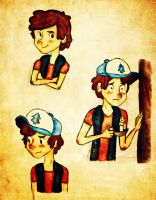 Mr. Dipper Pines by Disney-Sarah