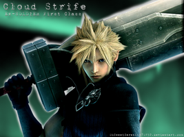 Cloud Strife Wallpaper by OhSweetSerenity71892