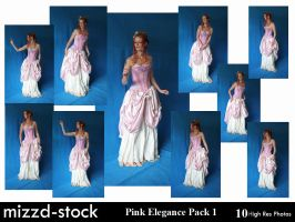 Pink Elegance Pack 1 by mizzd-stock
