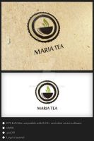 Maria Tea - Logo Template by genotas