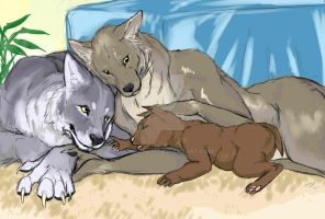 Werefamily by iamnoone21