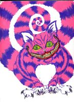 The Cheshire cat lives by lu-da-chris