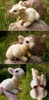 felted lamb by Spyrre