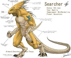 SEARCHER Reference Sheet by beastofoblivion