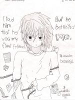 L Lawliet: Betrayal by iAmMasterShin