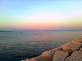 Twilight On The Breakwater by ALExIA483