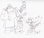 Count Duckula cast in my style by battybuddy