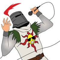 Knight Solaire by tobuei