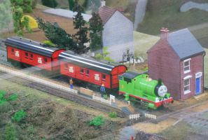 Percy and the Mail Train by rlkitterman