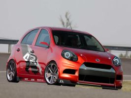 Nissan March VirtualTuning by leandroconradt95