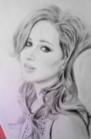 jennifer lawrence by kjviray