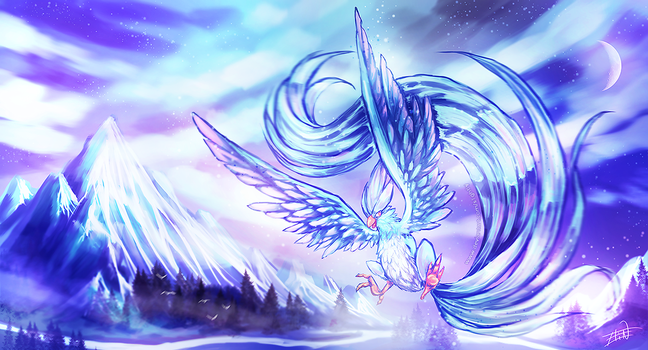 Articuno by S1ghtly
