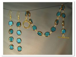 Turquoise Glass by Llyzabeth
