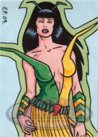 Mantis Sketch Card by ElainePerna