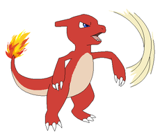 Charmeleon Used Slash by Kainaa