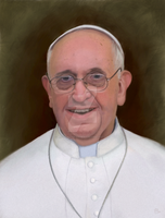 Pope Francis by ArtofJefferyHebert