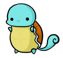 A Wild Squirtle Appears by Capsee