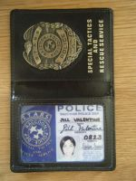 Jill Valentine S.T.A.R.S. Raccoon Police ID Badge by Leonie-Heartilly